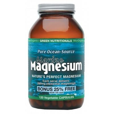 Magnesium Capsules 120 - GREEN NUTRITIONALS