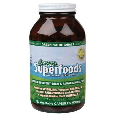 Green Capsules 250 caps - GREEN NUTRITIONALS