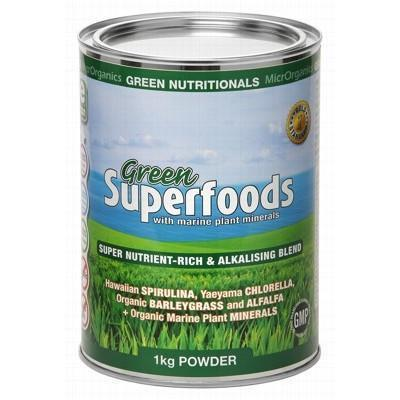 Green Superfoods 1kg - GREEN NUTRITIONALS