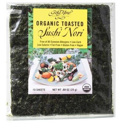 Toasted Sushi Nori 25g - GOLD MINE