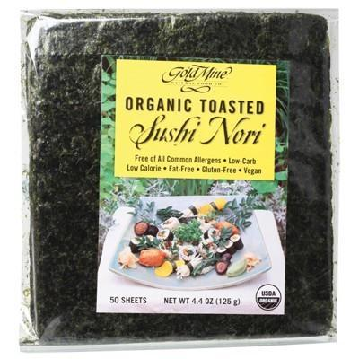 Toasted Sushi Nori 125g - GOLD MINE
