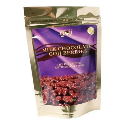 Milk Choc Goji Berries 300g - NATURALLY GOJI