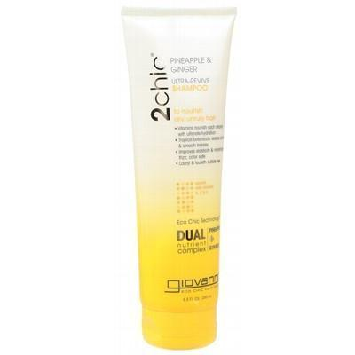 Pine. Ginger Shampoo 250ml - GIOVANNI