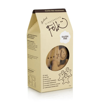 Gingerbread Folk Gluten Free Kiddiewinks 225g New