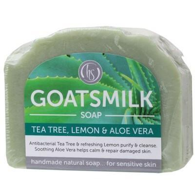 Tea Tree Goat's Milk Soap 140g - HARMONY SOAPWORKS