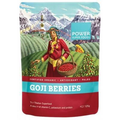 Goji Berries 125g - POWER SUPER FOODS