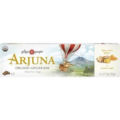 Arjuna Ginger Bar 16x35g - THE GINGER PEOPLE