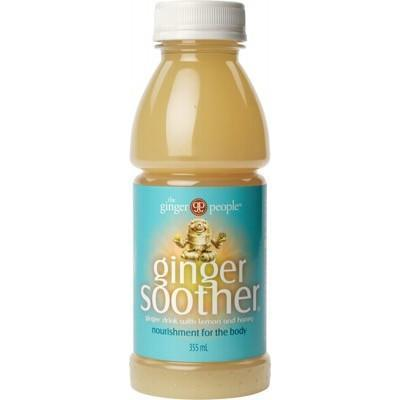 Ginger Soother Drink Lemon Honey 355ml - THE GINGER PEOPLE