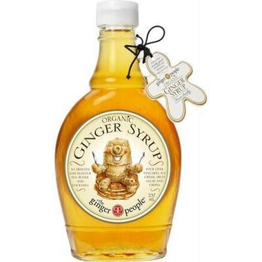 Ginger Syrup 237ml - THE GINGER PEOPLE