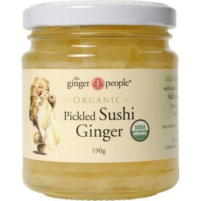 Pickled Ginger 190g - THE GINGER PEOPLE