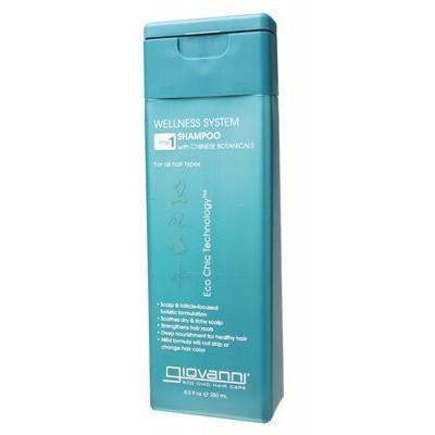 Wellness Shampoo 250ml - GIOVANNI