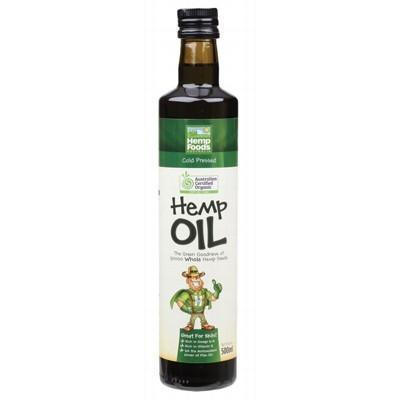 Hemp Seed Oil 500ml - HEMP FOODS AUSTRALIA