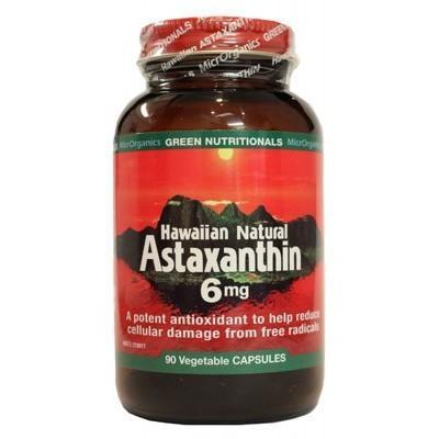 Astaxanthin Capsules 90 - GREEN NUTRITIONALS