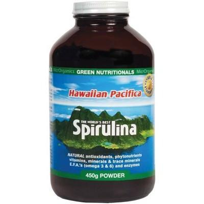 Spirulina Powder 450g - GREEN NUTRITIONALS