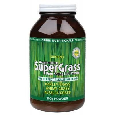 Supergrass Powder 200g - GREEN NUTRITIONALS