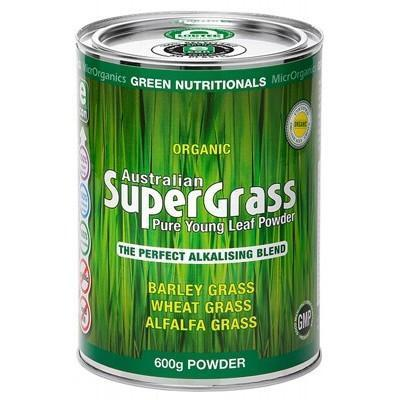 Supergrass Powder 600g - GREEN NUTRITIONALS