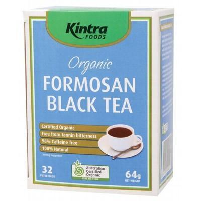 Formosan Black Tea Bags 64g - KINTRA FOODS