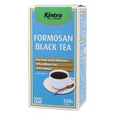 Formosan Black Tea Loose Leaf 250g - KINTRA FOODS