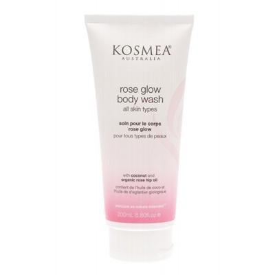 Rose Glow Body Wash 200ml - KOSMEA