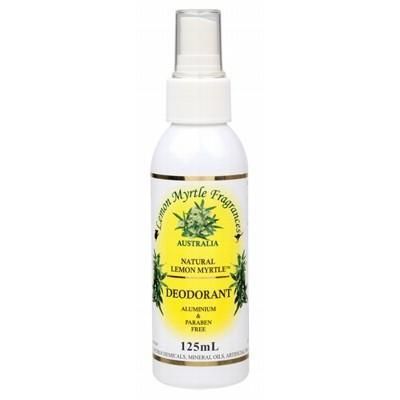 Deodorant Spray 125ml - LEMON MYRTLE FRAGRANCES
