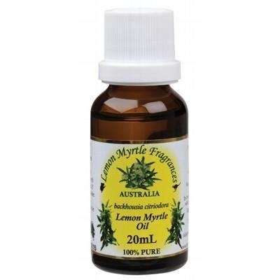Lemon Myrtle Oil 20ml - LEMON MYRTLE FRAGRANCES