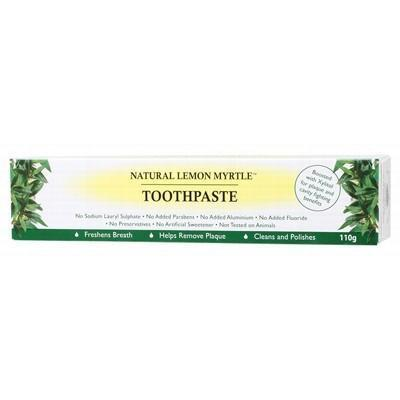 Toothpaste 110g - LEMON MYRTLE FRAGRANCES