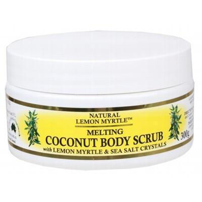 Coconut Body Scrub 300g - LEMON MYRTLE FRAGRANCES
