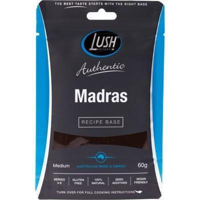 Madras Base Medium 60g - LUSH DELIGHTS