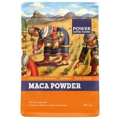 Maca Powder 1kg - POWER SUPER FOODS