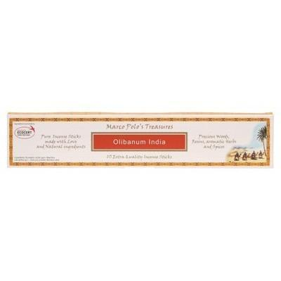 Incense Sticks Olibanum India 10 - MARCO POLO'S TREASURES