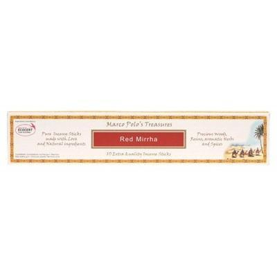 Incense Sticks Red Mirrha 10 - MARCO POLO'S TREASURES