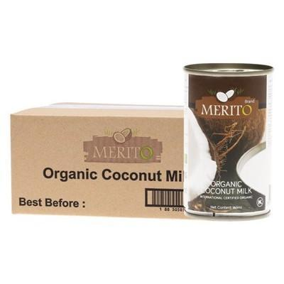 Coconut Milk 12x160ml - MERITO