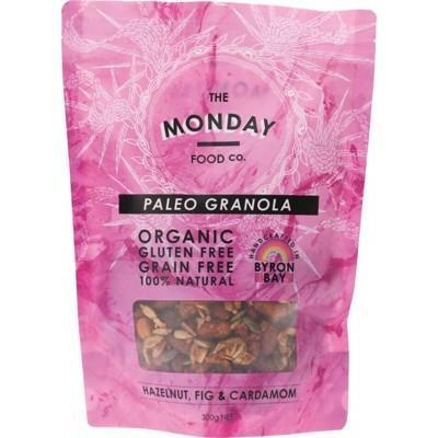 Hazelnut Fig Granola 300g - MONDAY FOOD CO.