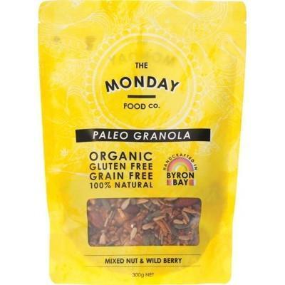 Mixed Nut Granola 300g - MONDAY FOOD CO.