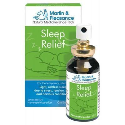 Sleep Homeopathic Oral Spray 25ml - MARTIN & PLEASANCE