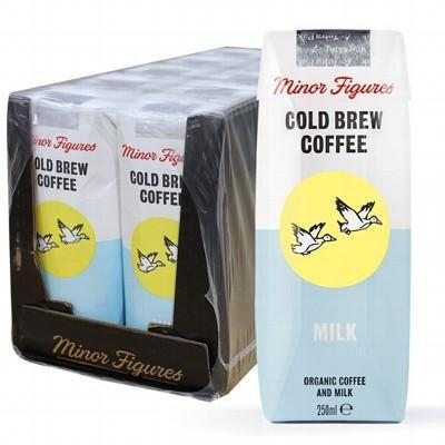 Coffee & Milk Cold Brew 10x250ml - MINOR FIGURES