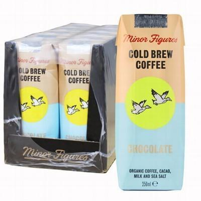 Choc/Cof Cold Brew 10x250ml - MINOR FIGURES