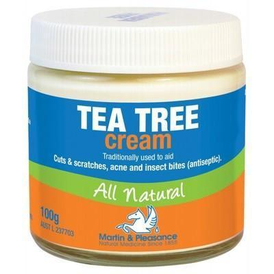 Tea Tree Cream Jar 100g - MARTIN & PLEASANCE