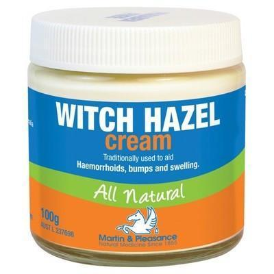 Witch Hazel Cream Jar 100g - MARTIN & PLEASANCE