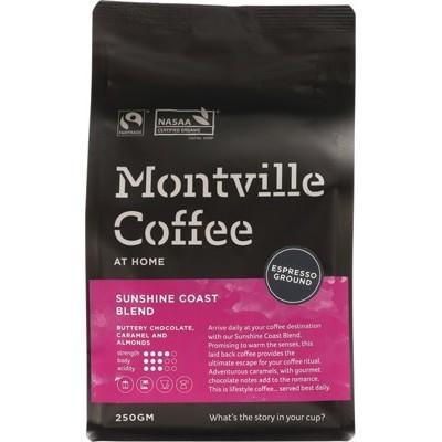 Coffee For Espresso 250g - MONTVILLE COFFEE