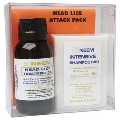 Head Lice Attack Pack Promo - NEEMING AUSTRALIA