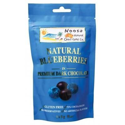 Dark Choc Blueberries 115g - NOOSA NATURAL CHOC. CO.