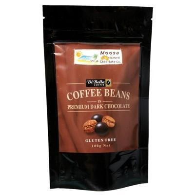 Dark Choc Coffee Beans 100g - NOOSA NATURAL CHOC. CO.
