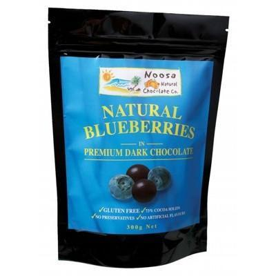 Dark Choc Blueberries 300g - NOOSA NATURAL CHOC. CO.