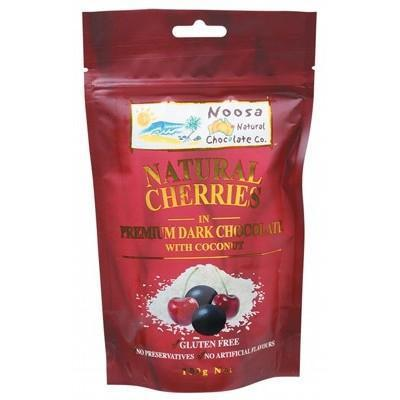 Dark Choc Cherries 100g - NOOSA NATURAL CHOC. CO.