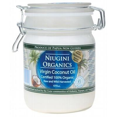 Virgin Coconut Oil 650ml - NIUGINI ORGANICS