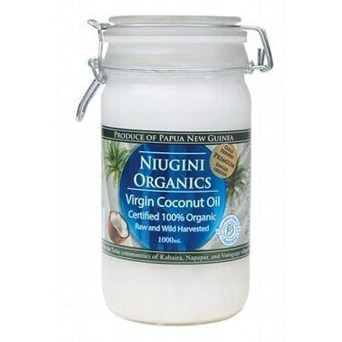 Virgin Coconut Oil 1L - NIUGINI ORGANICS
