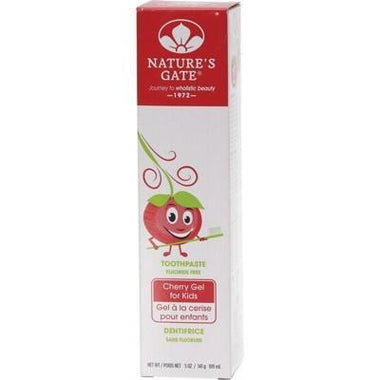 Toothpaste Cherry 141g - NATURE'S GATE