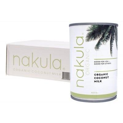 Coconut Milk Carton (Box of 12) 12x400g - NAKULA