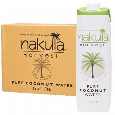 Coconut Water Carton 12x1L - NAKULA